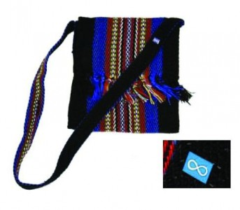 Sash Bag - Small - Black - Infinity Pin