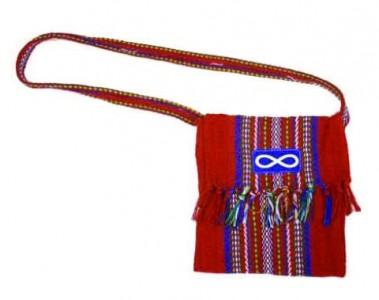 Sash Bag - Small - Red - Crested