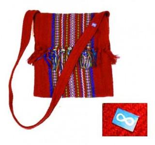 Sash Bag - Small - Red - Infinity Pin