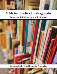 Metis Studies Bibliography 2016 Cover