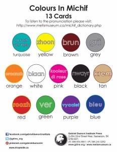 Dual Language Colors